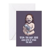 Baby Jesus -Myrrh Greeting Cards (Pk of 10)