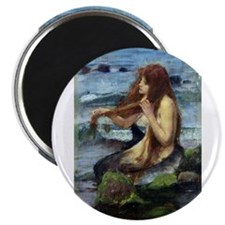 "A Mermaid (study) 2.25"" Magnet (100 pack)"