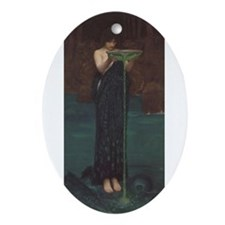 Circe Invidiosa Ornament (Oval)