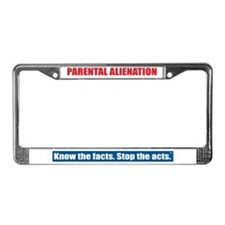 Parental Alienation License Plate Frame