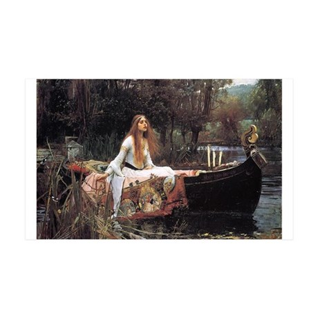 Lady of Shalott 38.5 x 24.5 Wall Peel