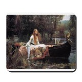 Lady of Shalott Mousepad