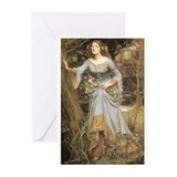 Ophelia (1905) Greeting Cards (Pk of 10)