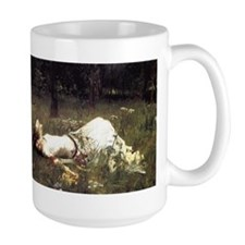 Ophelia Lying in the Meadow Mug