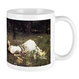 Ophelia Lying in the Meadow Small Mugs