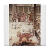 Saint Eulalia Tile Coaster