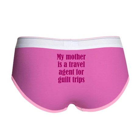 Mothers and Guilt Trips Women's Boy Brief