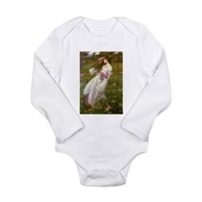 Windflowers Long Sleeve Infant Bodysuit