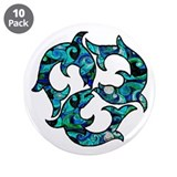 Swirl 3.5&quot; Button (10 pack)
