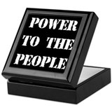 Power to the People Keepsake Box