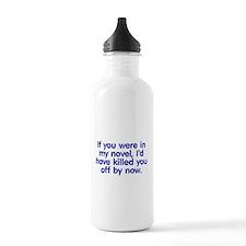 In My Novel - Writer Water Bottle
