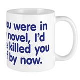 In My Novel - Writer Small Mug