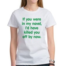 In My Novel - Writer Tee