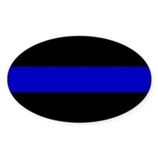 The Thin Blue Line Decal