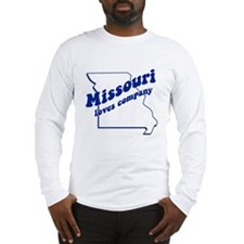 Vintage Missouri Long Sleeve T-Shirt
