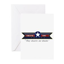 Thank You Troops Greeting Cards (Pk of 20)