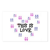 This is Love. Postcards (Package of 8)