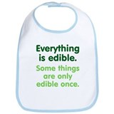 Everything is Edible Bib