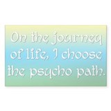 Psycho Journey of Life Decal