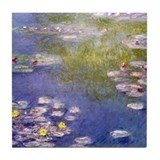 Nympheas at Giverny Tile Coaster