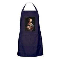 Lady with an Ermine Apron (dark)