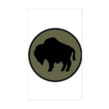 Buffalo Soldiers Decal