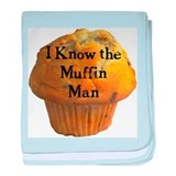 Muffin Man baby blanket