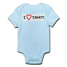 I Love Tahiti Infant Creeper