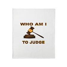 JUDGEMENT DAY Throw Blanket