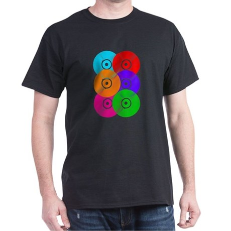 Record Colors Dark T-Shirt