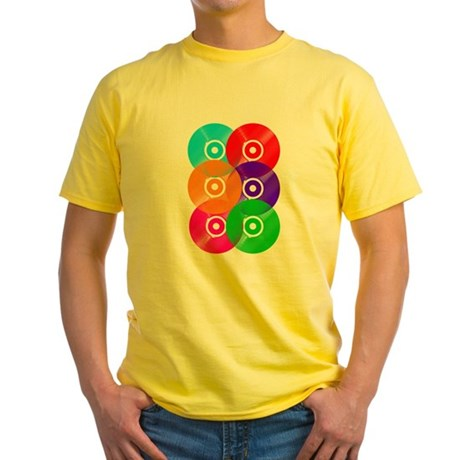 Record Colors Yellow T-Shirt