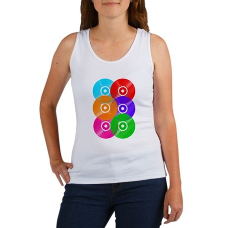 Record Colors Women's Tank Top