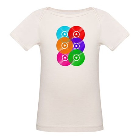 Record Colors Organic Baby T-Shirt