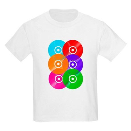 Record Colors Kids Light T-Shirt