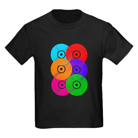 Record Colors Kids Dark T-Shirt