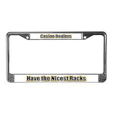 Dealers have the Nicest Racks License Plate Frame
