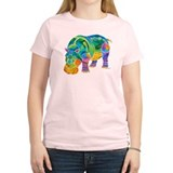 Best HIPPO in Many Colors T-Shirt