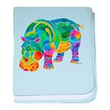 Best HIPPO in Many Colors baby blanket
