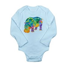 Best HIPPO in Many Colors Long Sleeve Infant Bodys