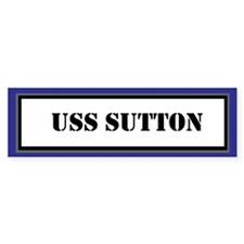 USS Sutton Bumper Sticker