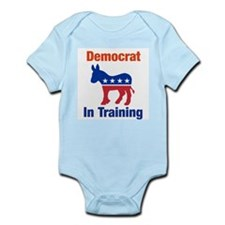 Democrat In Training Onesie