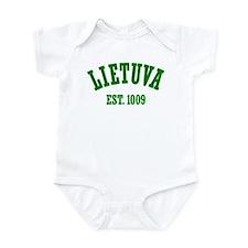 Classic Lietuva Est. 1009 Infant Bodysuit