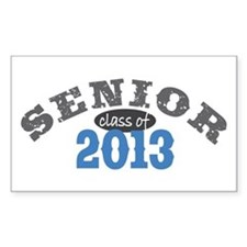 Senior Class of 2013 Decal