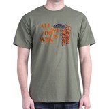 Funny Tiger football T-Shirt