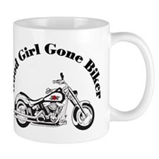 Good Girl Biker I Small Mug