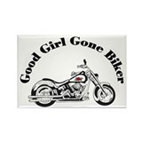 Good Girl Biker I Rectangle Magnet
