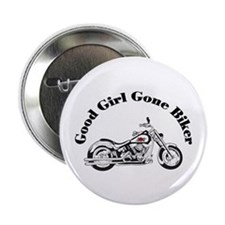 "Good Girl Biker I 2.25"" Button"