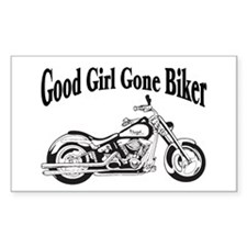 Good Girl Biker II Decal