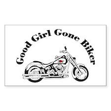 Good Girl Biker I Decal