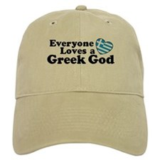 Everyone Loves a Greek God Baseball Cap